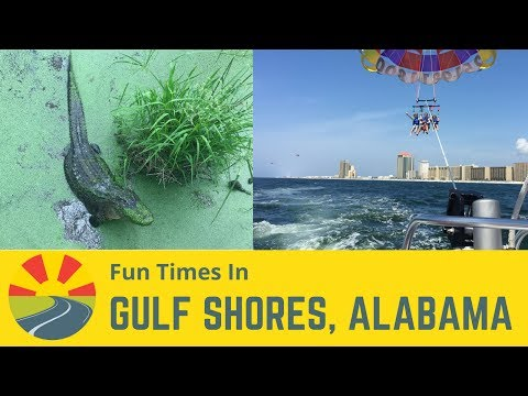 Fun Times in Gulf Shores, Alabama!