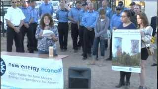 New Energy Economy Solar Celebration at Fire Station No. 3