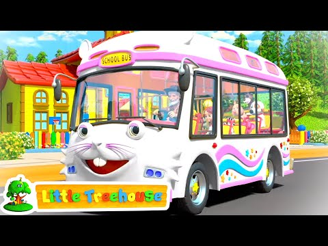 wheels-on-the-bus- -i-spy-game-song-&-baby-songs-by-little-treehouse- -kids-tv
