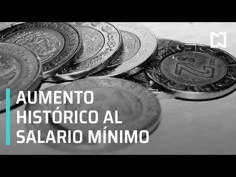 Aumentos históricos al salario mínimo - Las Noticias con Danielle