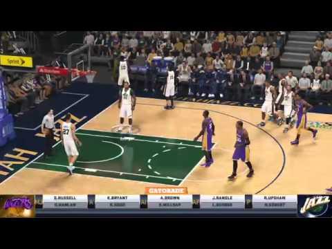 [NBA2k15] Los Angeles Lakers @ Utah Jazz (Partie 2)