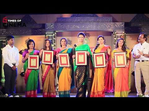 Actress Priya Bhavani Shankar At Pothys Best Silk Weaver Young Women Achievers Awards   TOC