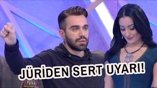 Niran Yalaz Sinirlerine Hakim Olamayınca Jüri Uyardı!