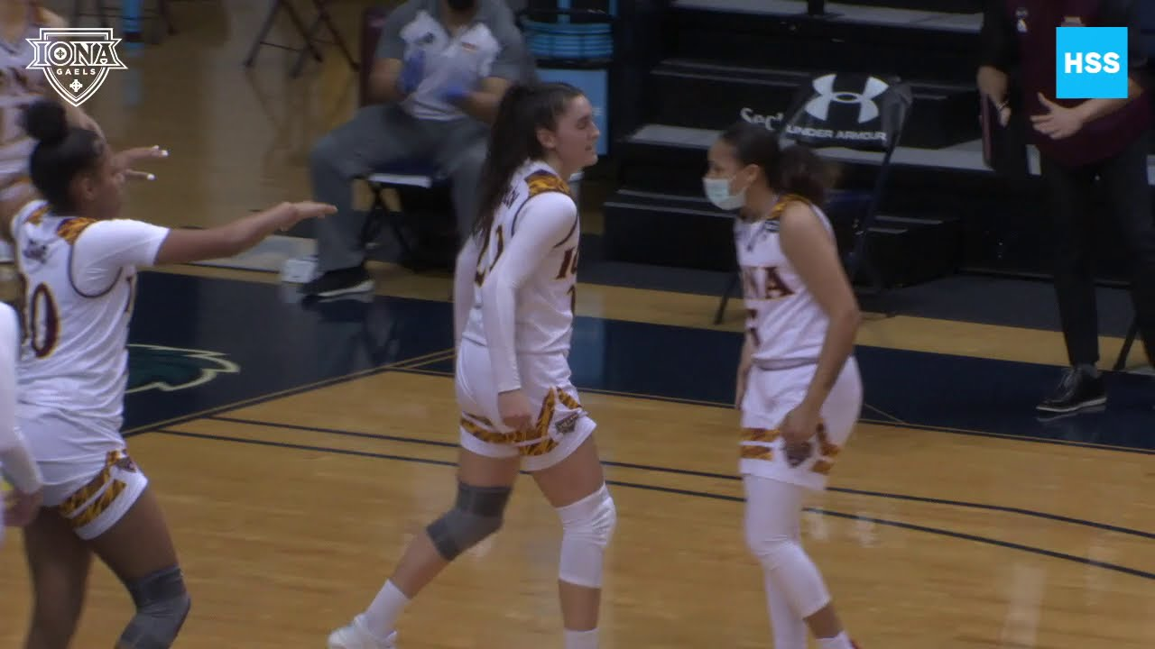 Iona WBB Clinches First Round Bye With Victory Over Monmouth