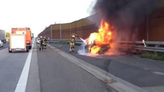 Pkw Brand durch Feuerwehr gelöscht Neustadt/Wied