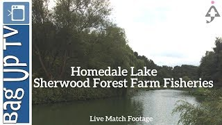 Homedale Lake at Sherwood Forest Farm Fisheries - Live Match Footage - Baguptv