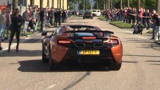 Supercars Arriving at Car Meet! 2x SVJ, Chiron, Novitec F12, 600LT, 992 & More!