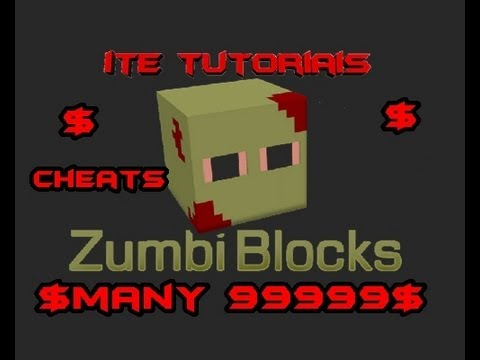 Tutorial de como por cheats no ZUMBI BLOCKS
