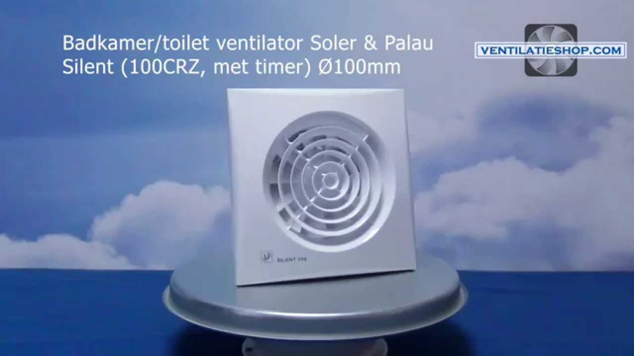 Itho Ventilator Badkamer : Douche ventilator met timer