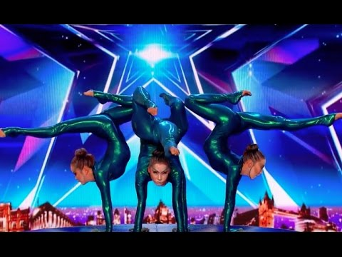 Angara Contortion Are Out of This World | Audition 4 | Britain's Got Talent 2017