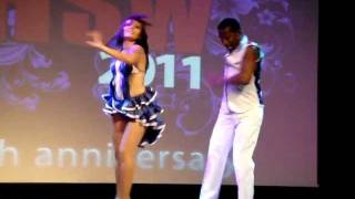 Cuban Salsa Performance - Baila Baila at Hot Salsa Weekend 2011