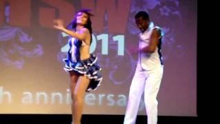 Cuban Salsa Performance - Baila Baila at Hot Salsa Weekend 2011