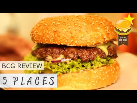 5places burger berlin bewertung review by burger city guide youtube. Black Bedroom Furniture Sets. Home Design Ideas
