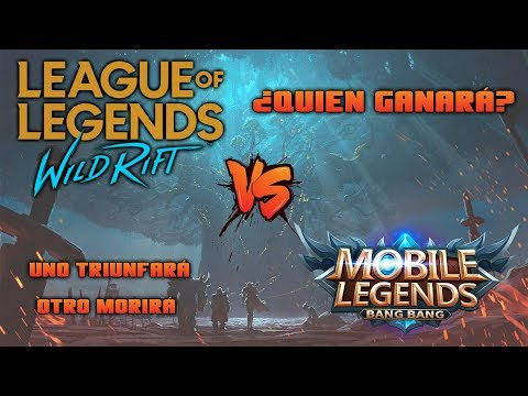 LEAGUE OF LEGENDS WILD RIFT vs MOBILE LEGENDS: BANG BANG