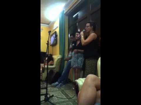 Karaoke Night in the Hotel Lobby