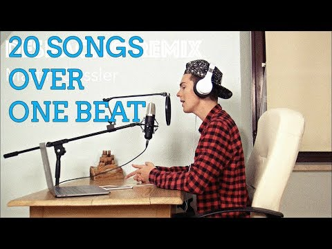 Despacito Mashup - 20 SONGS OVER ONE BEAT (Martin Gessler Mashup Cover)