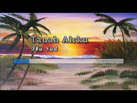 [Karaoke] ♬ Ibu Sud - Tanah Airku ♬ +Lirik Lagu [PIANO]