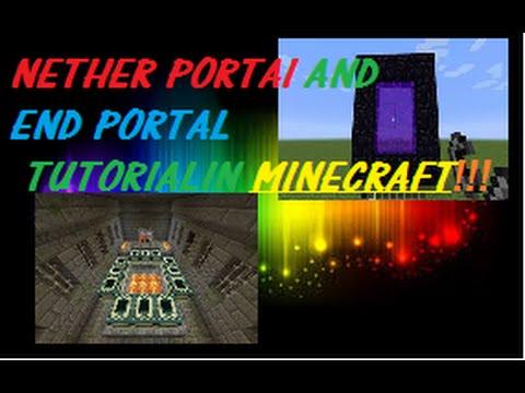 how to make an end portal creative