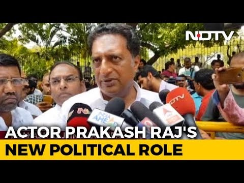 """Why The Pressure?"" Prakash Raj On Whether He Will Divide Anti-BJP Votes"