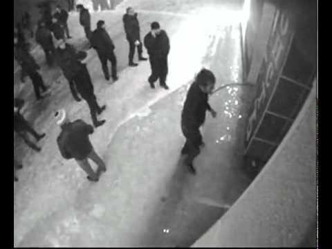 Нападение на кафе-бар -ЭгоистЪ- город Новый Уренгой