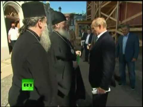 Путин пригрозил батюшке в ответ на поцелуй в Gudok62.ru
