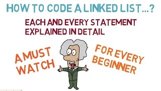 Program a Linked List in C/C++