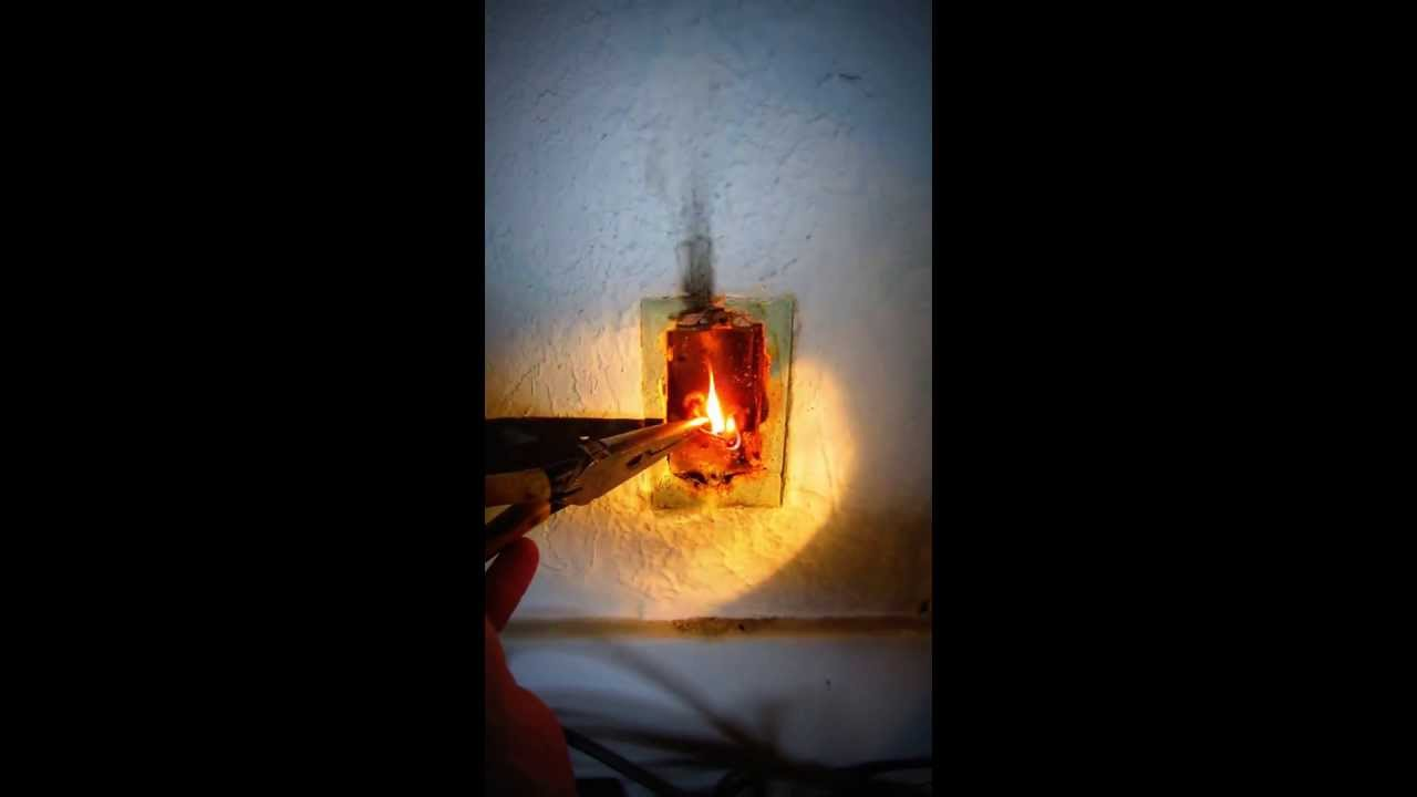 Electrical Fire - YouTube