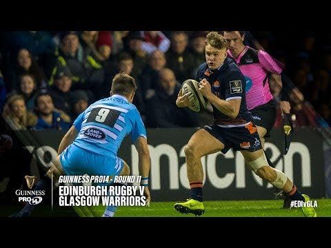 Guinness PRO14 Round 11 Highlights: Edinburgh Rugby v Glasgow Warriors