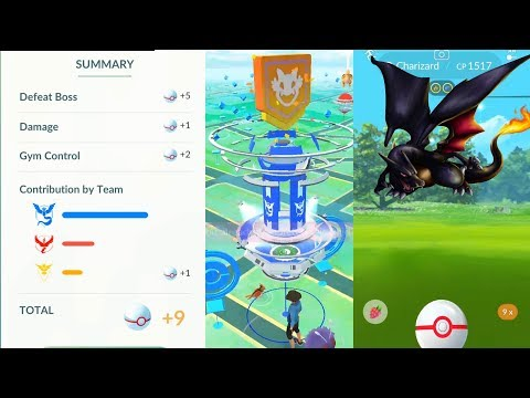 Easy way to join Gym RAID + New Battle items in Pokemon Go