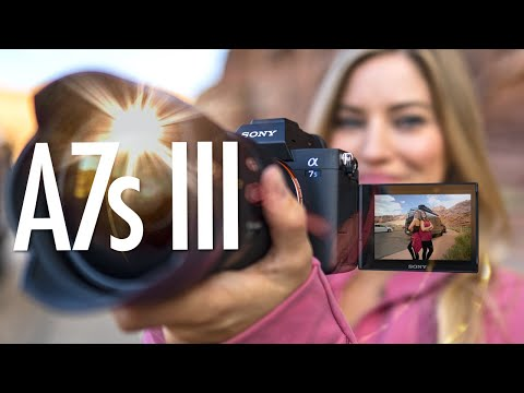 Sony A7s III Hands on Review!
