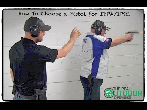 How to Choose a Pistol for IDPA or IPSC