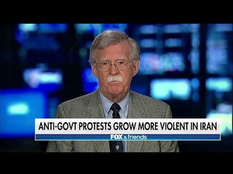 Bolton: 'Our Goal Should Be Regime Change in Iran'
