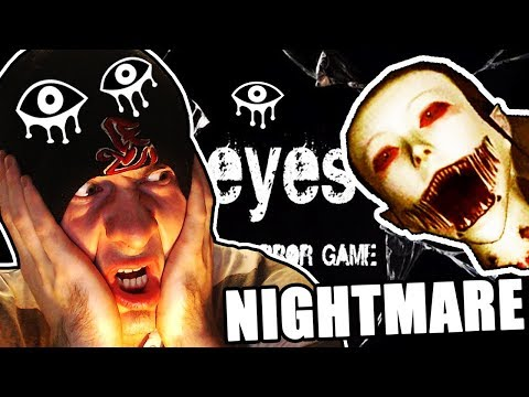 WHERE MY CHANNEL BEGAN ~ Eyes the Horror Game // NIGHTMARE MODE MANSION COMPLETE