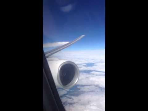 Airplane Dumping Jet Fuel (CPH to LAX 6-21-14):Norwegian Flight DY5410