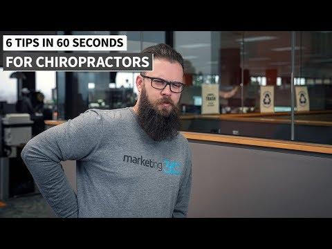 Chiropractic Marketing - 6 Tips in :60 Seconds