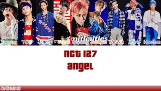 😇artist: nct 127 (엔시티 127)😇 😇song: angel😇 😇colors:😇 taeyong: seafoam green taeil: pine johnny: blue yuta: yellow doyoung: robin's egg jaehyun: cre...