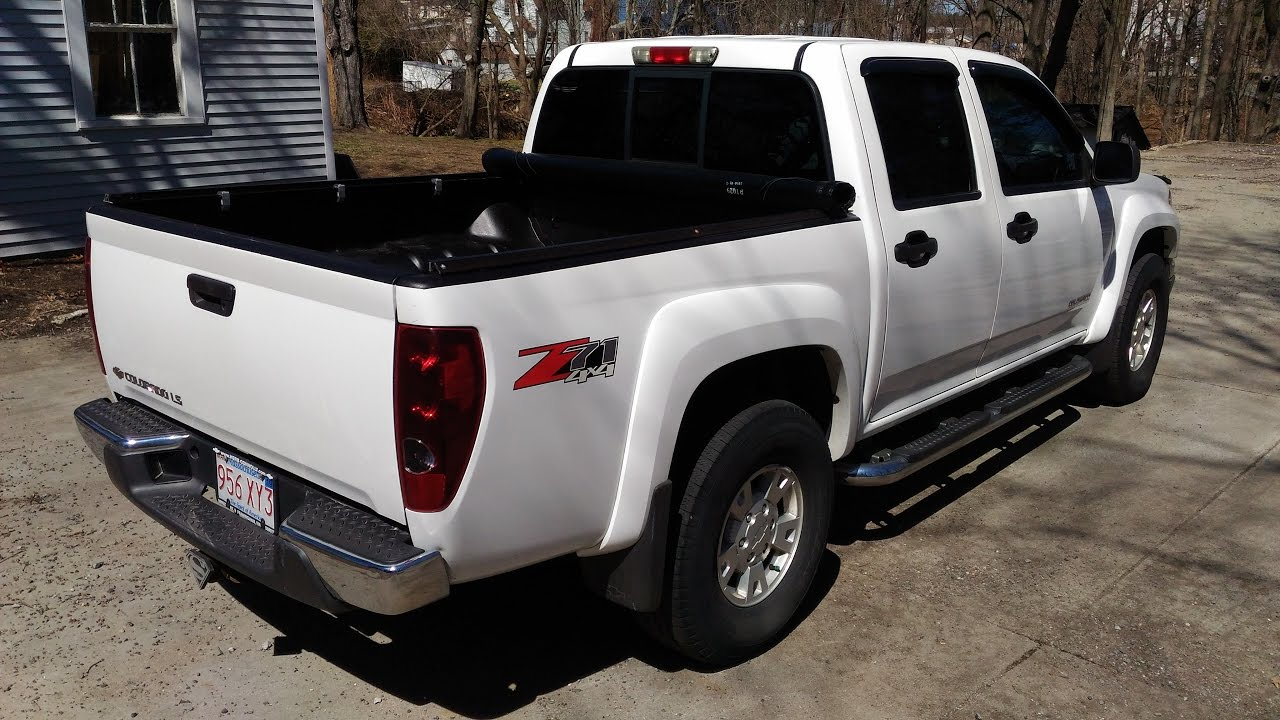 Colorado chevy colorado 05 : 2005 Chevy Colorado Rust-Oleum Roll-on Bed Liner One Year Follow ...
