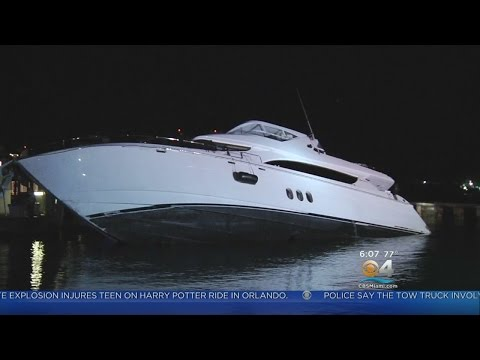 Would-Be Thief Crashes Yacht