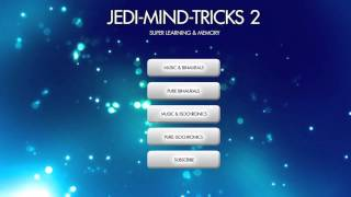 Jedi Mind 2 - Creativity & Focus - Memory & Concentration Music w/ Binaural Beats & Isochronic Tones