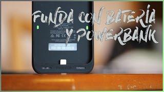 FUNDA CON BATERÍA Y POWER BANK | MOPHIE