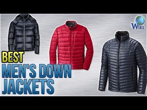10 Best Men's Down Jackets 2018