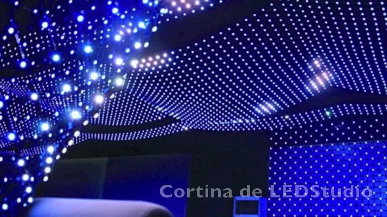 Ledstudio cortina led soluciones a medida telf 961 for Cortina de luces led