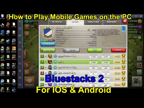 Bluestacks 2: How to Play Mobile Games on PC for IOS & Android Devices
