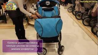 Прогулочная коляска Capella S-803(Новая прогулочная коляска Capella S-803 — практичная и красивая коляска с перекидной ручкой. При разработке..., 2013-01-29T15:06:06.000Z)