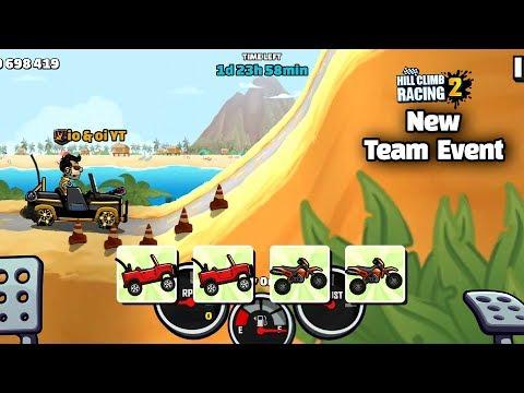 Hill Climb Racing 2 - Jeep Vs Motocross - New Team Event