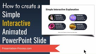 Simple Interactive Powerpoint Animated Slide For Quiz!