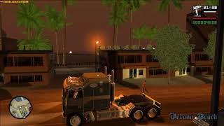 GTA San Andreas - Моды, прогулка CJ