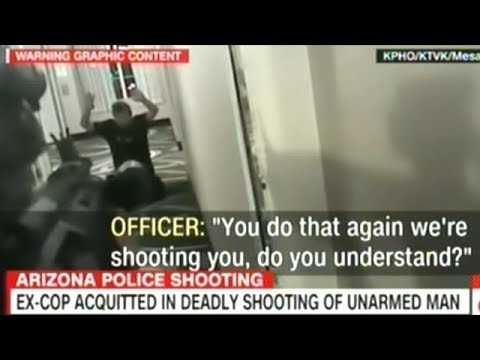 """VIDEO SHOWS ARIZONA COP """"EXECUTE"""" UNARMED MAN BEGGING FOR HIS LIFE!"""