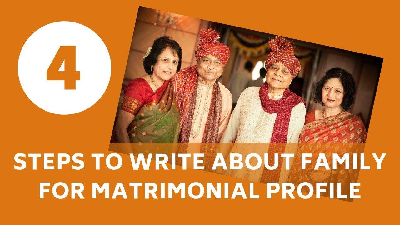 7 Family Description Samples For Your Matrimony Profile!