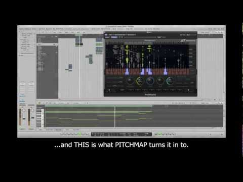 Zynaptiq PITCHMAP For Creating Electronic Music Re-Mixes